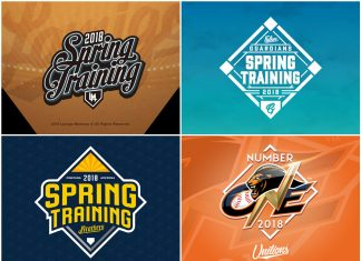 CPBL 2018 spring training camp logo