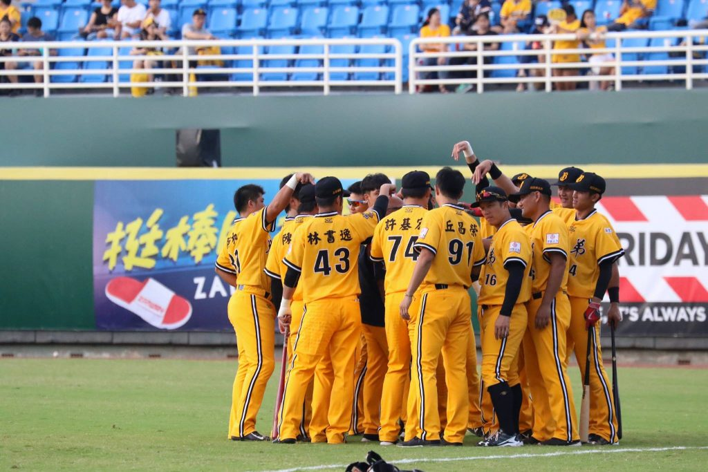 The much younger Brothers baseball team going into 2017 CPBL postseason.