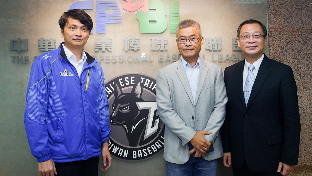 The GM of 綺麗集團 (Chii Lih Group) visited CPBL