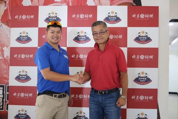 Asian Islanders head coach Toma Irokawa was in Taiwan last year for East Coast League