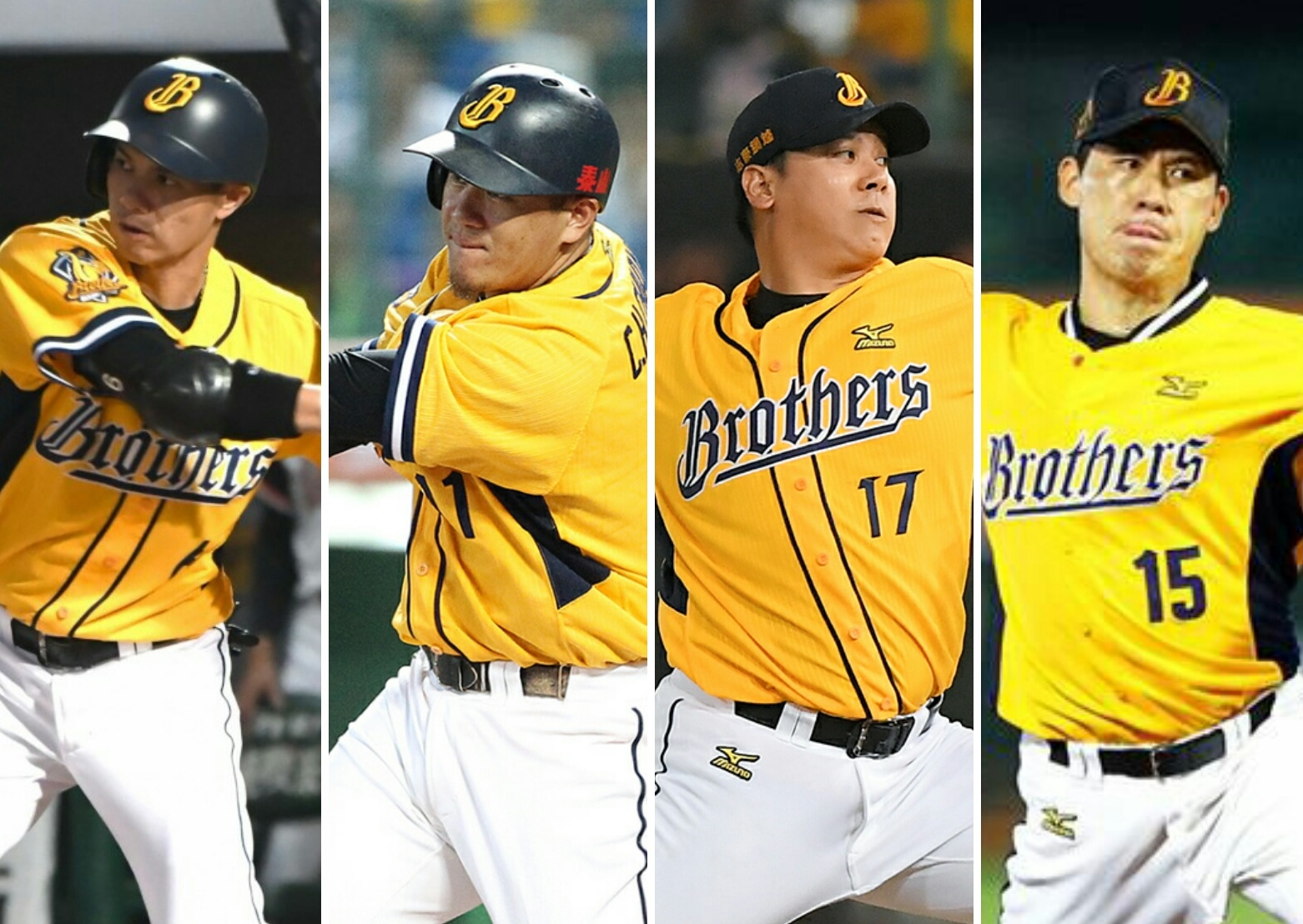 Fubon Guardians have signed several high profile former Brothers players. Including Chiang Chih-Hsien