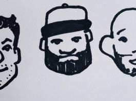 Bruce billing drawing teammates