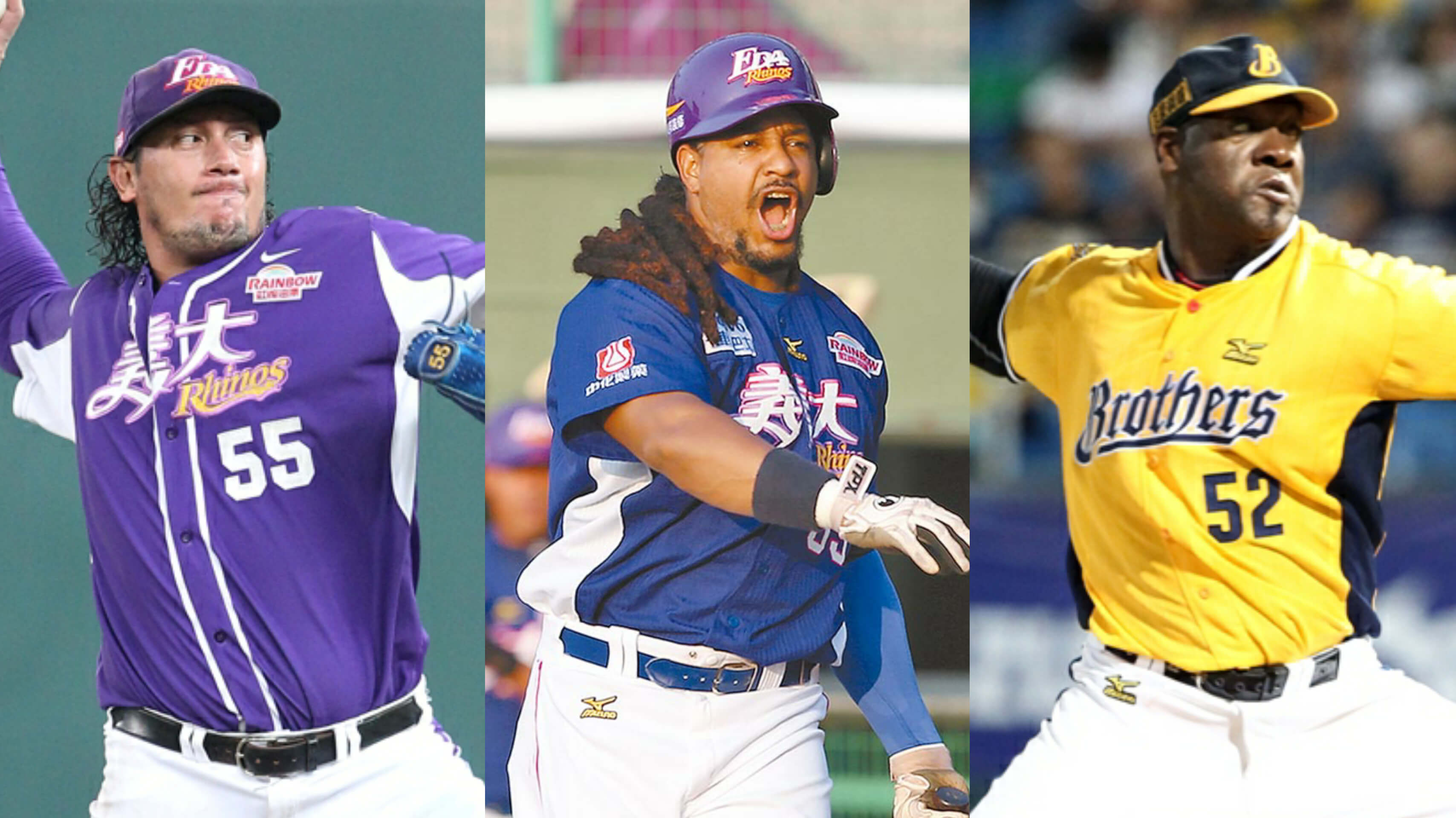 Freddy Garcia, Manny Ramirez, Jose Contreras in CPBL