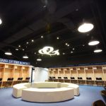 guardians Xinzhuang stadium new locker room