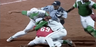 1999 cpbl bench brawl between dragons and whales