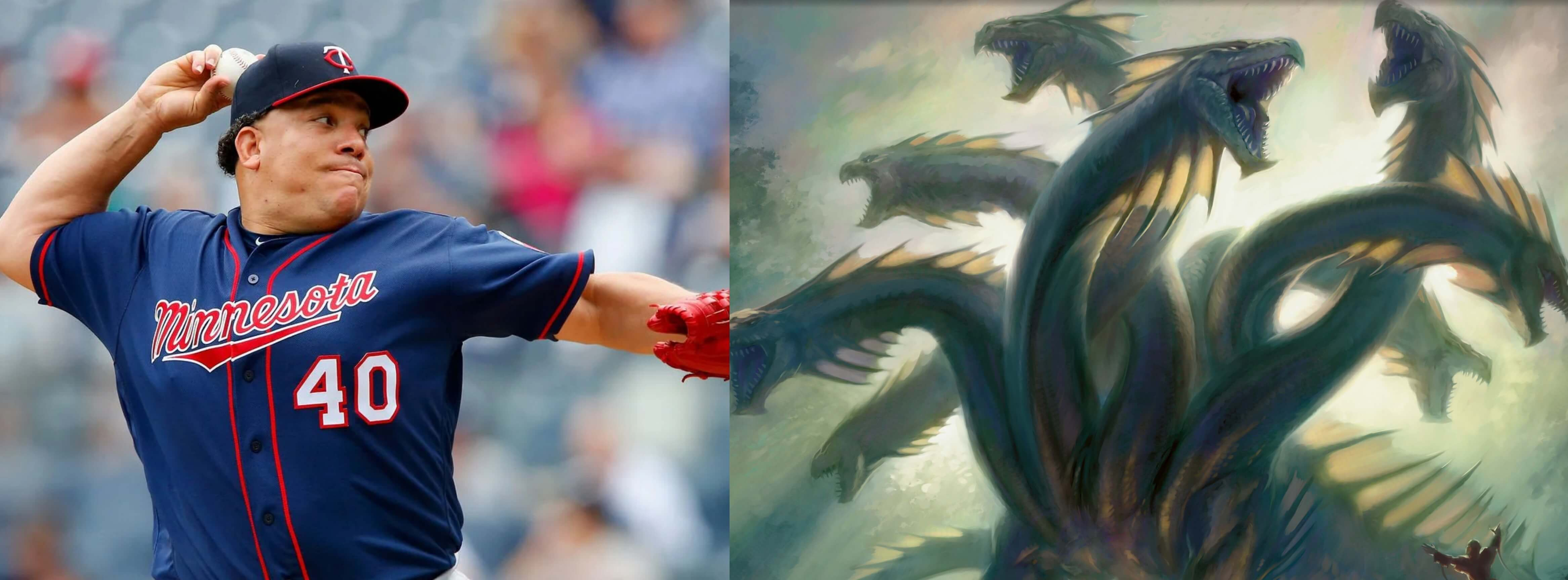 Bartolo Colon taiwan nickname is 8 headed dragon