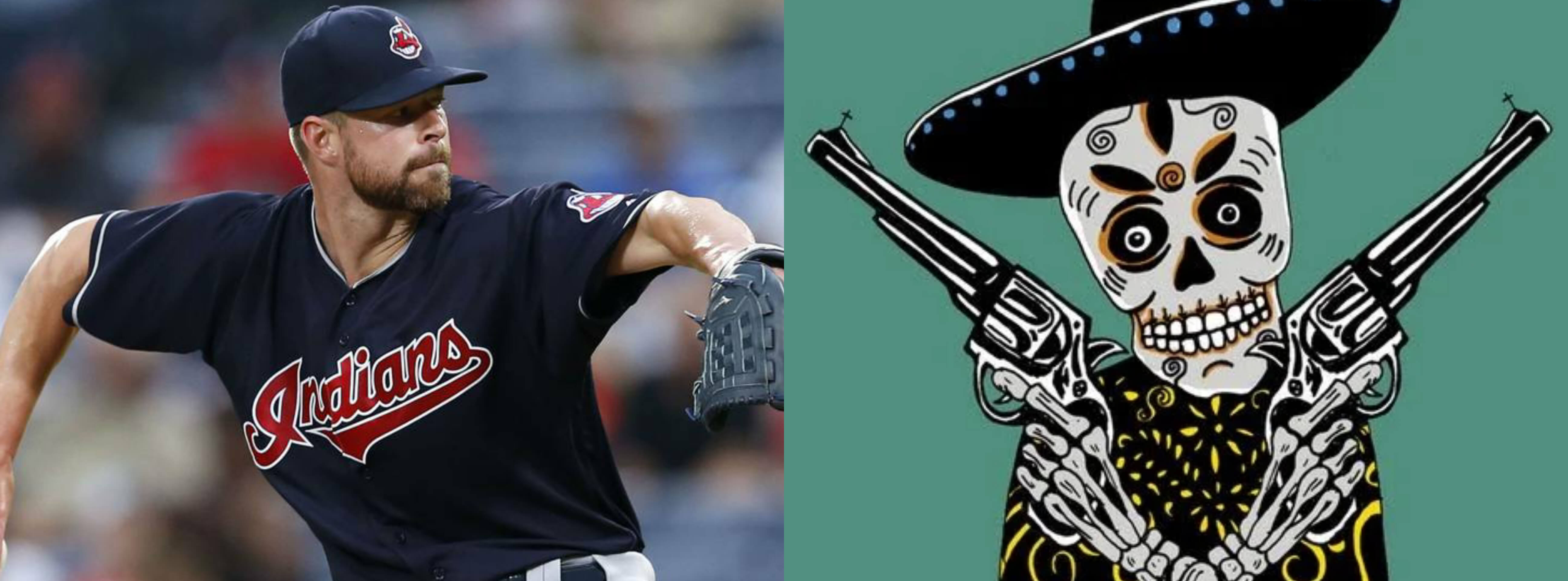 Corey Kluber taiwan nickname is uncle skeleton